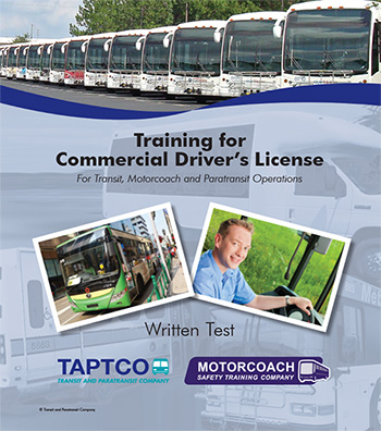 Taptco CDL Binder | CDL Practice Test